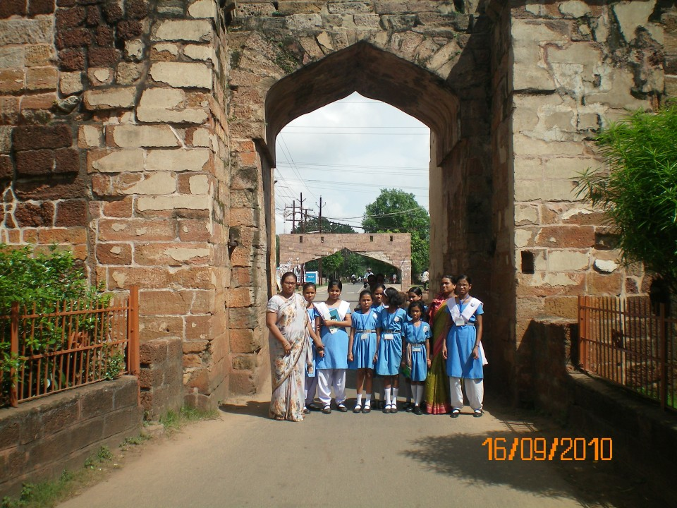 welcome to the Silver City, Cuttack. (Main gate of Barabati Fort).jpg