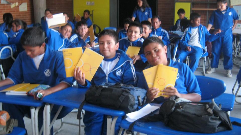 Proyecto Aulas Hermanas en el Colegio Distrital Delia Zapata Olivella