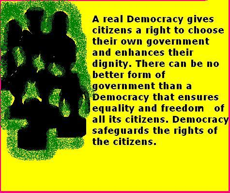 ... democracy is the worst form of government except for all the others